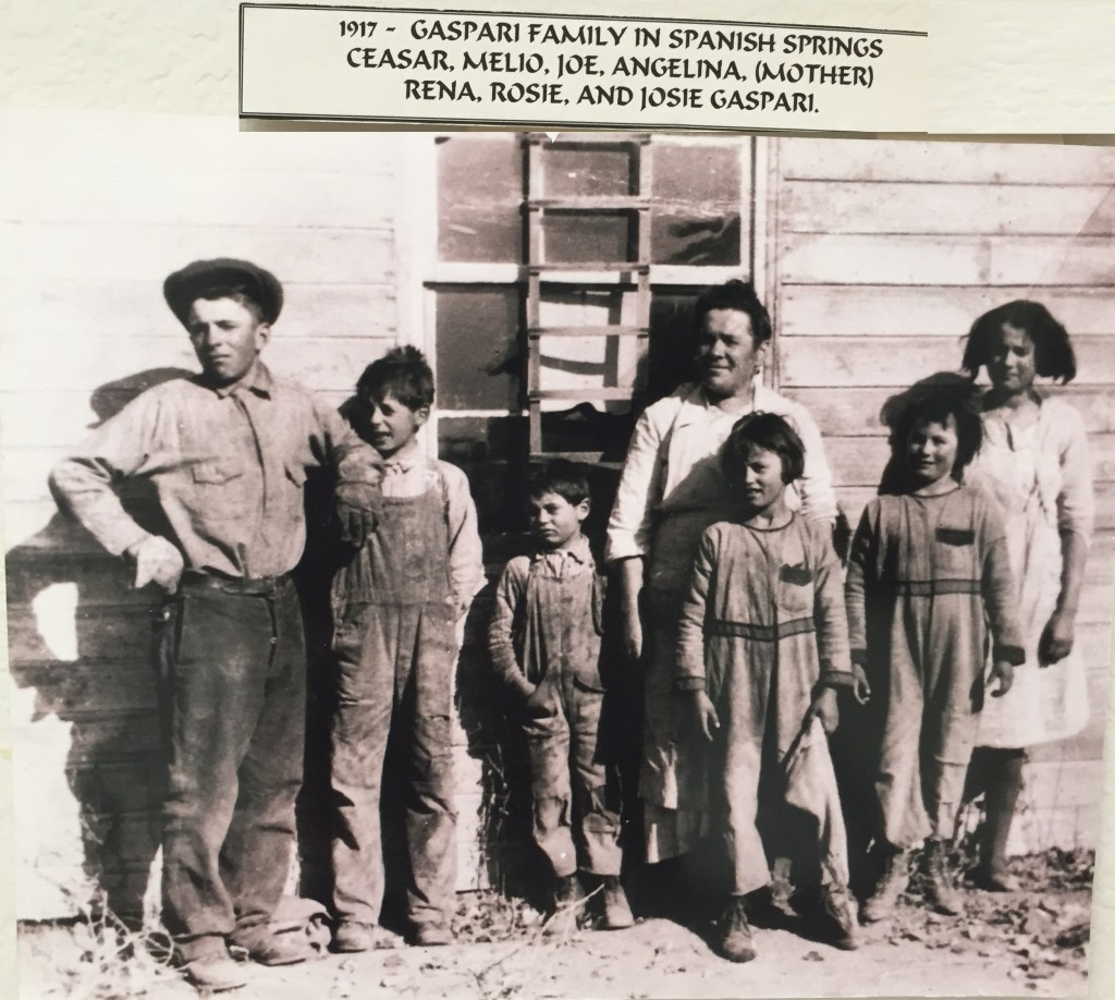 Gaspari Family 1917