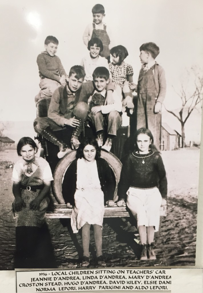 Spanish Springs School Kids 1936